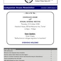 October (2008) Newsletter