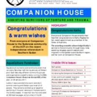 Spring Newsletter (Feb 2011)