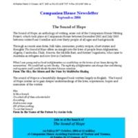 September (2004) Newsletters